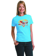 Image: Superpets by Cooke Women's T-Shirt  (XL) -