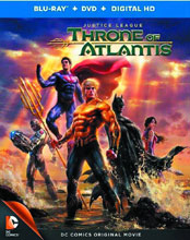 Image: Justice League: Throne of Atlantis DVD  -