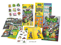 Image: Plants vs. Zombies Minicomic Pack Display Box  - Dark Horse Comics