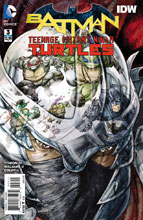 Image: Batman / Teenage Mutant Ninja Turtles #3 - DC Comics
