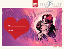 Image: X-Files: Season 11 #7 (Valentine subscription cover) - IDW Publishing