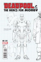 Image: Deadpool & the Mercs for Money #1 (variant cover - Hawthorne Design) - Marvel Comics