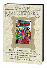 Image: Marvel Masterworks Vol. 233: The Avengers Nos. 150-163, Annual No. 6 HC  - Marvel Comics