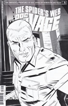 Image: Doc Savage: Spider's Web #3 (incentive cover B - Torres B&W) (10-copy) - Dynamite