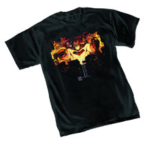 Image: Dark Knight III T-Shirt: On Target by Miller  (XXL) -