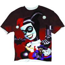 Image: Harley Quinn Mad Love Sublimated T-Shirt  (M) -
