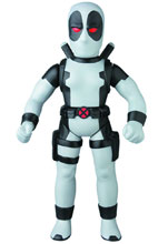 Image: Marvel Sofubi: Retro Deadpool  (Gray version) -