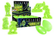 Image: Aliens in Glowing Slime Assortment  (12) -