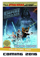 Image: Empire Strikes Back Micro Comic Collectors Pack Display  -