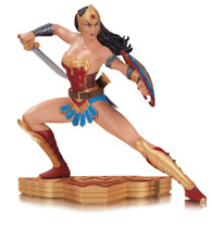 Image: Wonder Woman: Art of War Statue by Garcia Lopez  - DC Comics