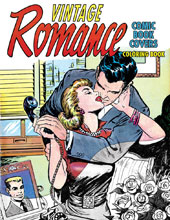 Image: Vintage Romance Comic Book Covers Coloring Book SC  - IDW Publishing