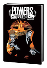 Image: Powers: The Definitive Hardcover Collection Vol. 07: The Bureau Saga HC  - Marvel Comics - ICON