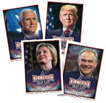 Image: Decision 2016 Political Card Series 2 Box  - Benchwarmers