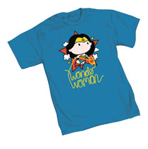 Image: Wonder Woman T-Shirt: Cutie II  (M) - Graphitti Designs