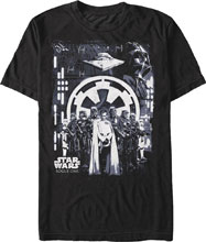 Image: Star Wars: Rogue One T-Shirt - Looming Empire [Black]  (M) - Fifth Sun