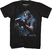 Image: Capcom Resident Evil T-Shirt: Watch Your Back [Black]  (XL) - American Classics Inc.