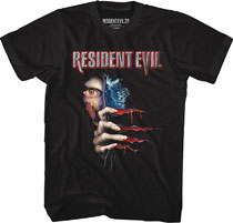 Image: Capcom Resident Evil T-Shirt: Re2 Box Art [Black]  (M) - American Classics Inc.