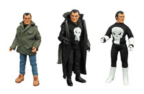 Image: Legendary Marvel Super-Heroes Limited Edition Collector Set: Mego Style Punisher Figure  - Diamond Select Toys LLC