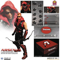 Image: One:12 Collective Previews Exclusive DC Action Figure: Arsenal  - Mezco Toys