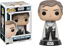 Image: POP! Star Wars: Rogue One Vinyl Bobble-Head 142: Director Orson Krennic  - Funko