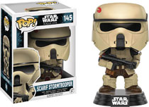 Image: POP! Star Wars: Rogue One Vinyl Figure 145: Scarif Stormtrooper  - Funko