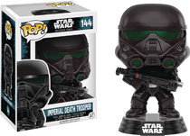 Image: POP! Star Wars Rogue One Vinyl Bobble-Head 144: Imperial Death Trooper  - Funko