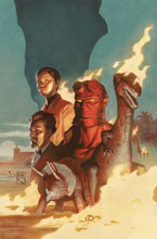 Image: Hellboy & B.P.R.D. 1955: Burning Season  (One-Shot) - Dark Horse Comics