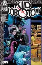 Image: Kid Lobotomy #5 (variant incentive cover - Brandon Graham) (10-copy) - IDW - Black Crown