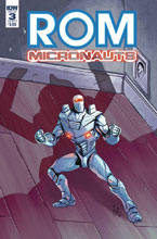 Image: Rom & the Micronauts #3 (cover A - Ossio) - IDW Publishing
