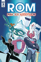 Image: Rom & the Micronauts #3 (cover B - Evenhuis) - IDW Publishing