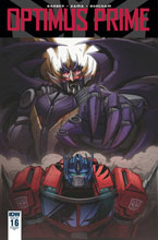 Image: Optimus Prime #16 (variant incentive cover - Marcelo Matere) (10-copy)  [2018] - IDW Publishing