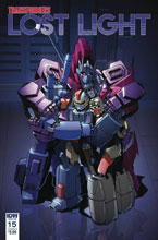 Image: Transformers: Lost Light #15 (cover A - Lawrence) - IDW Publishing