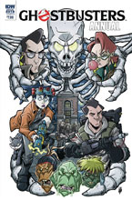 Image: Ghostbusters Annual 2018  (cover B - Lattie) - IDW Publishing