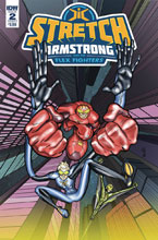 Image: Stretch Armstrong & Flex Fighters #2 (cover A - Amancio) - IDW Publishing