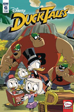 Image: Ducktales #6 (cover B - Ghiglione) - IDW Publishing