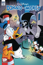 Image: Donald & Mickey Quarterly Treasure: Menace in Venice  (cover A - Nadorp) - IDW Publishing