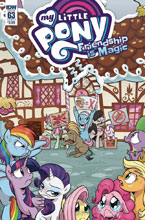 Image: My Little Pony: Friendship Is Magic #63 (cover A - Hickey) - IDW Publishing