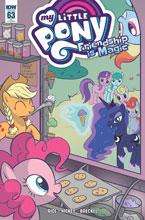 Image: My Little Pony: Friendship Is Magic #63 (variant incentive cover - Jen Vaughn) (10-copy) - IDW Publishing