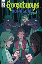 Image: Goosebumps: Download & Die #1 (cover A - Wong) - IDW Publishing