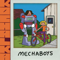 Image: Mechaboys SC  - IDW - Top Shelf