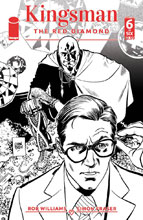 Image: Kingsman: Red Diamond #6 (cover B - Parlov B&W) - Image Comics