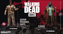 Image: Walking Dead TV 2017 Ser1 Ezekiel Action Figure Case  - Tmp Toys / Mcfarlane's Toys
