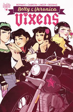 Image: Betty and Veronica Vixens #4 (cover C - St. Onge) - Archie Comic Publications