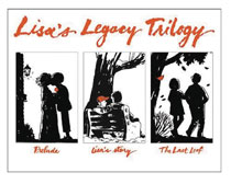 Image: Lisa's Legacy Trilogy HC  (slipcase edition) - Black Squirrel Books