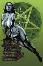 Image: Tarot: Witch of the Black Rose #102 (Studio Deluxe edition) - Broadsword Comics