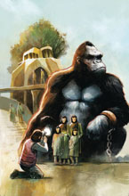 Image: Kong on The Planet of Apes #4 - Boom! Studios