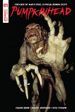 Image: Pumpkinhead #1 (cover B - Photo) - Dynamite