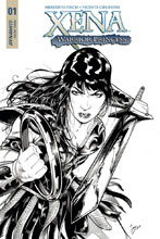 Image: Xena #1 (cover D incentive - Cifuentes B&W) (20-copy)  [2018] - Dynamite
