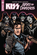 Image: Kiss / AoD #1 (cover C - Haeser) - Dynamite