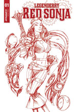 Image: Legenderry Red Sonja #1 (cover D incentive - Red Art) (25-copy)  [2018] - Dynamite